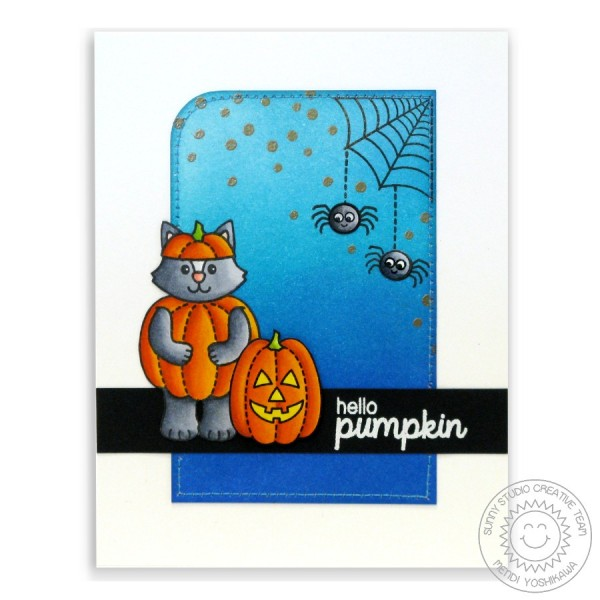 Halloween Cuties Spider Web Card-Instagram