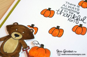 Bushels of Love Card by Jess Gerstner for Newton's Nook Designs and Simon Says Stamp