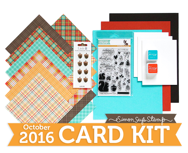 October Card Kit 600