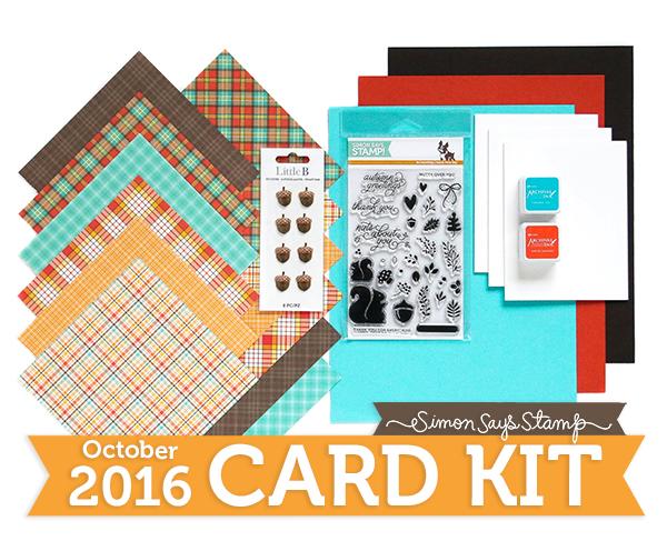 October Card Kit 600