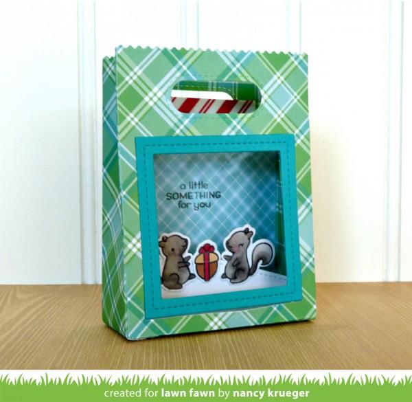 Lawn Fawn Goodie Bag Shadow Box
