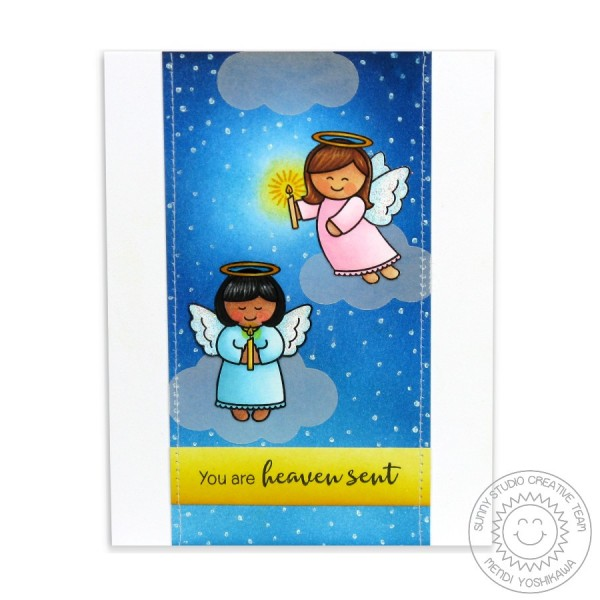 Little Angels Heaven Sent Card-Instagram