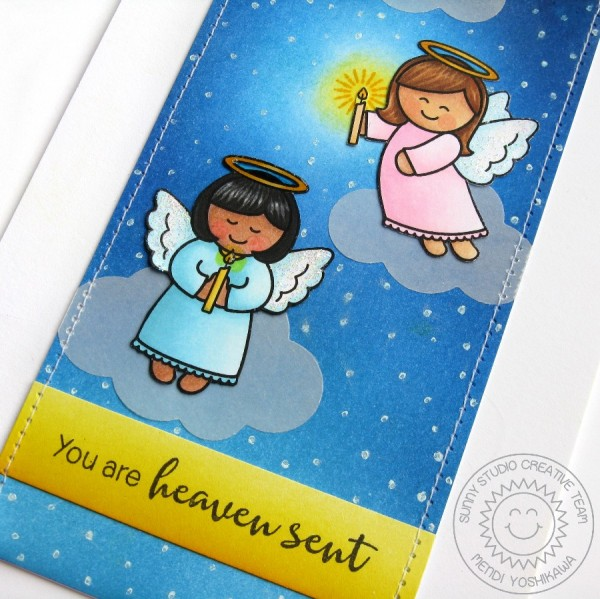 Little Angels Heaven Sent Card-Preview