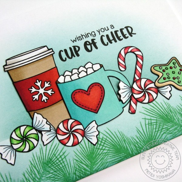 Mug Hugs Christmas Scene Card-Preview