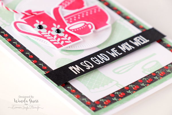 Weekender with Wanda featuring My Favorite Things Kitschy Kitchen stamps and dies