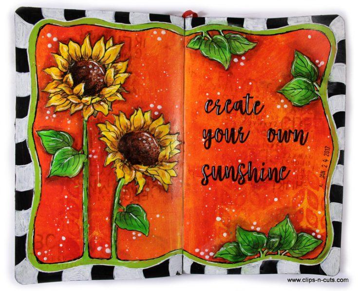 Vicky Papaioannou Art Journaling