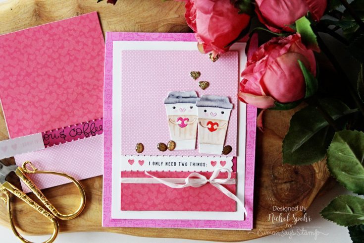 February 2017 Coffee Tea and Cocoa Card Kit Inspiration by Nichol Spohr