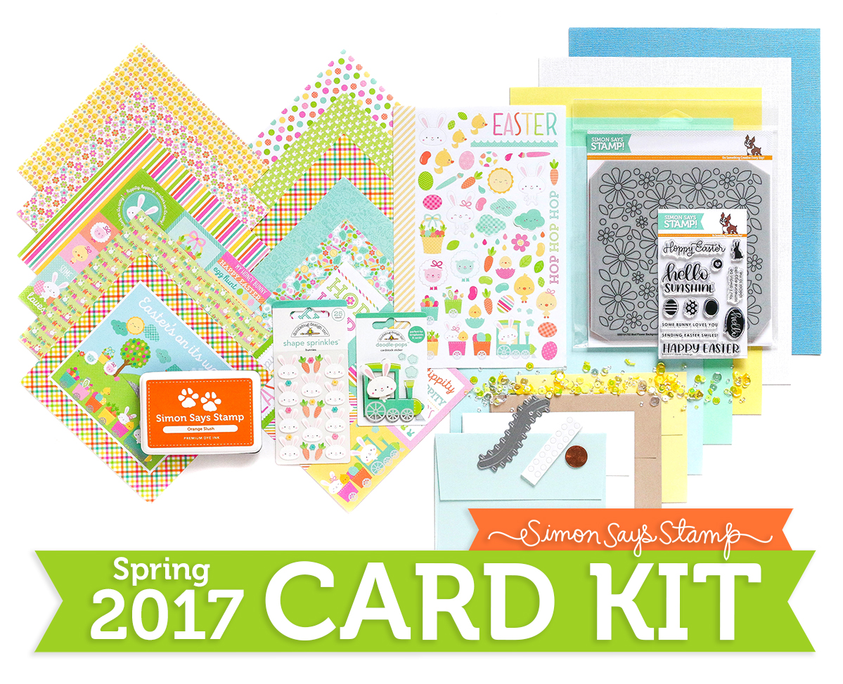 Hopping Along Limited Edition Spring Card Kit