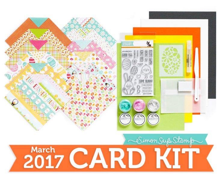 March 2017 Card Kit, Some Bunny