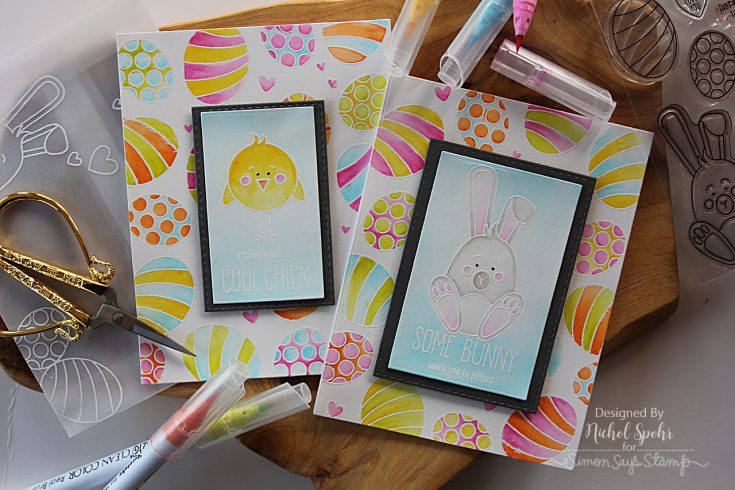 Nichol Spohr Watercolor Easter Card