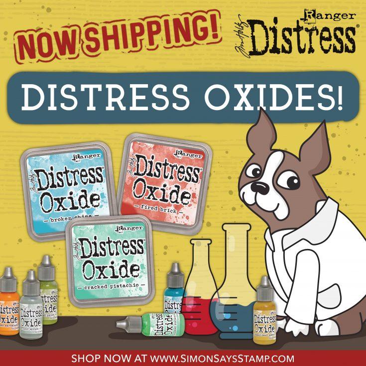 Distress Oxide Inks