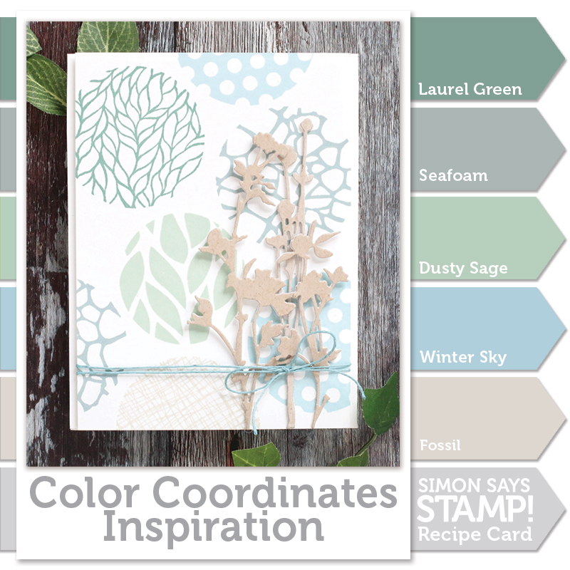 Color Coordinates, Serenity, Shari Carroll