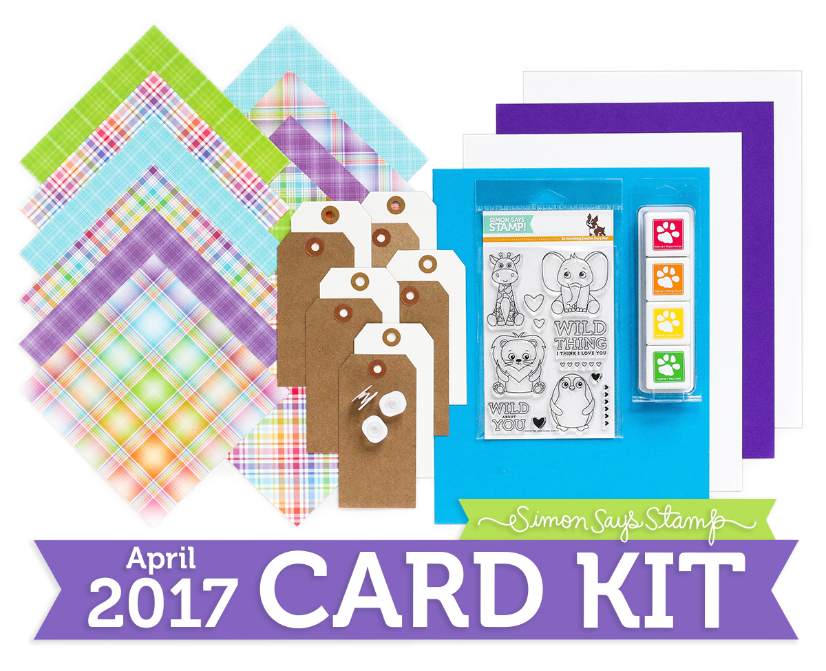 Card Kit, Wild and Colorful