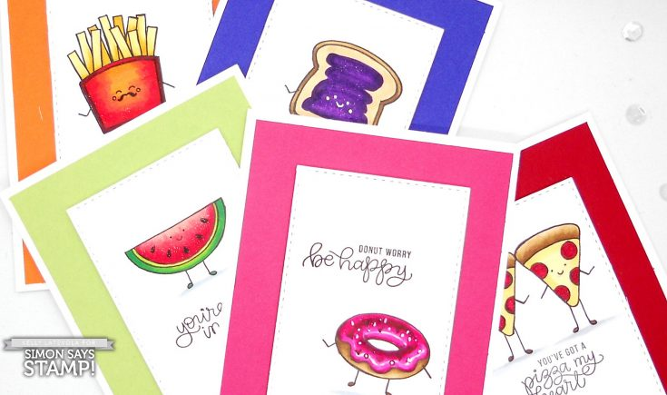 Copic Coloring Funny Food with Kelly Latevola