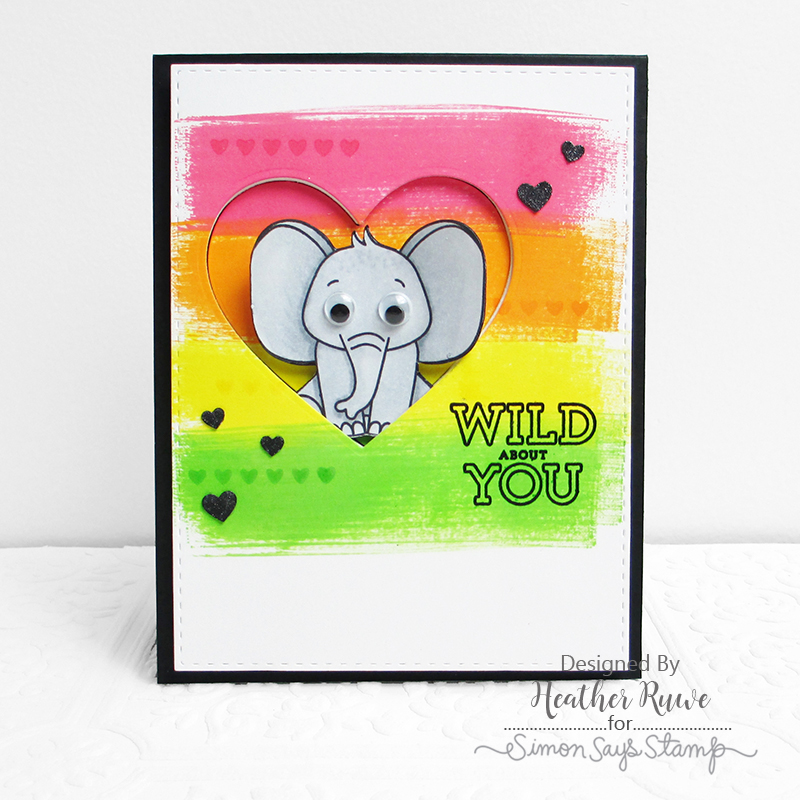 Card Kit, Wild and Colorful, Heather Ruwe
