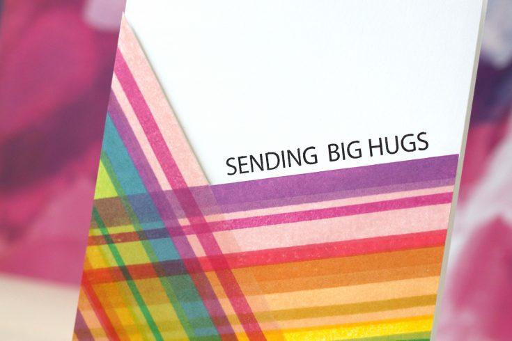 Amore Laura Fadora Sending Big Hugs Plaid