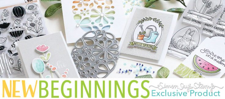 New Beginnings Simon Says Stamp Exclusive Product