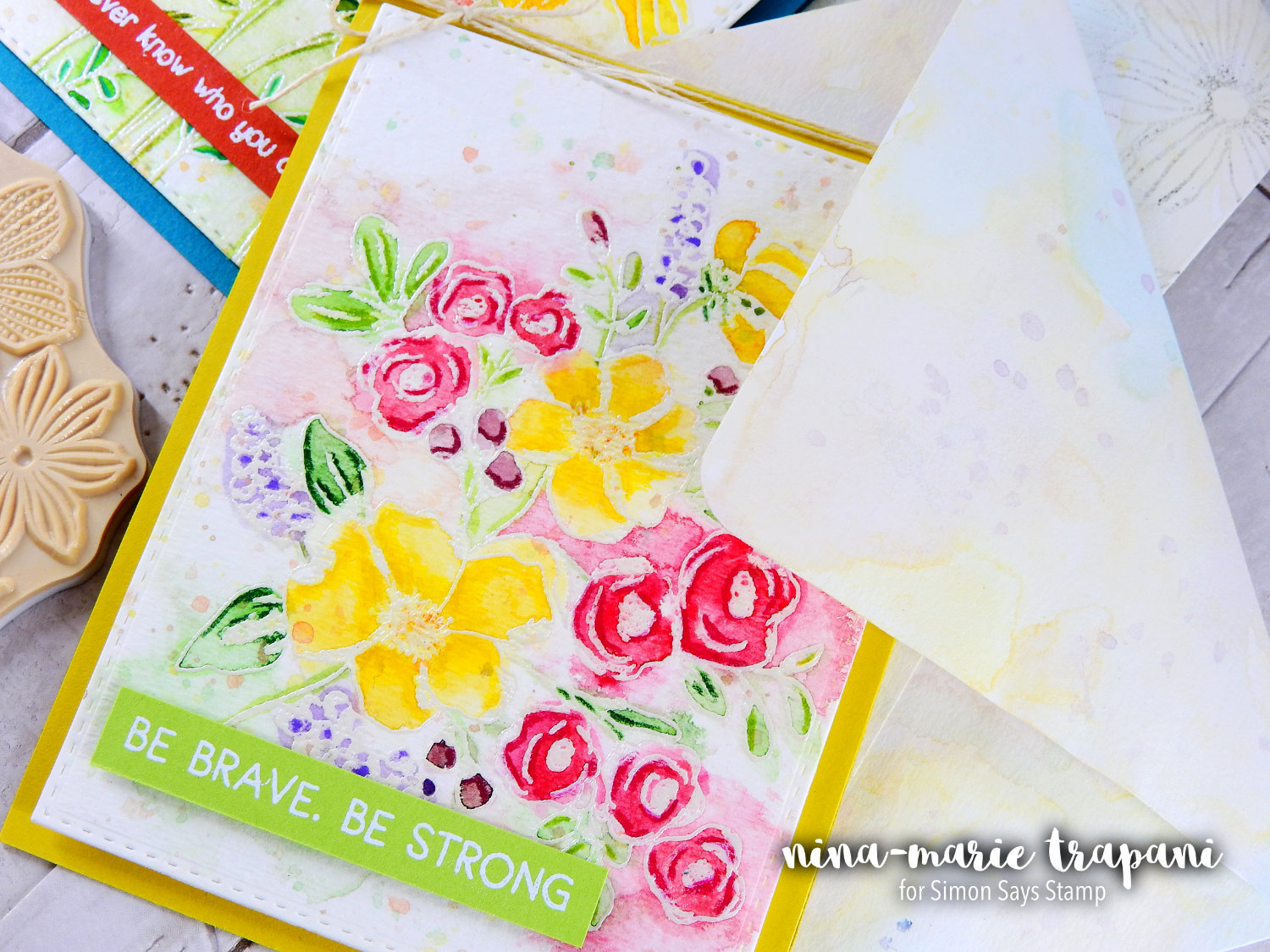 Watercolor Forals + Plant a Flower Day