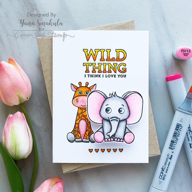 Card Kit, Wild and Colorful, Yana Smakula