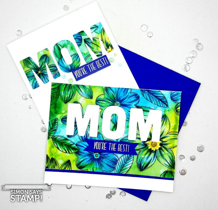 Suzy's Paintables Mothers Fathers Florals