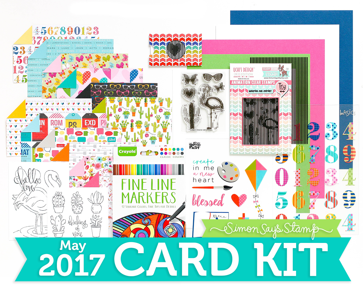 Card Kit, Reveal, Monthly Card kit