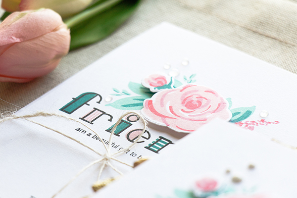 Yippee for Yana Floral Thank You Cards