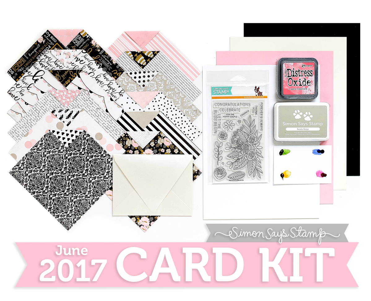 June 2017 Card Kit Blissful