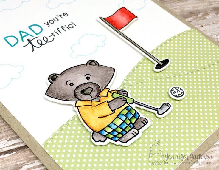 Golfing with Winston!
