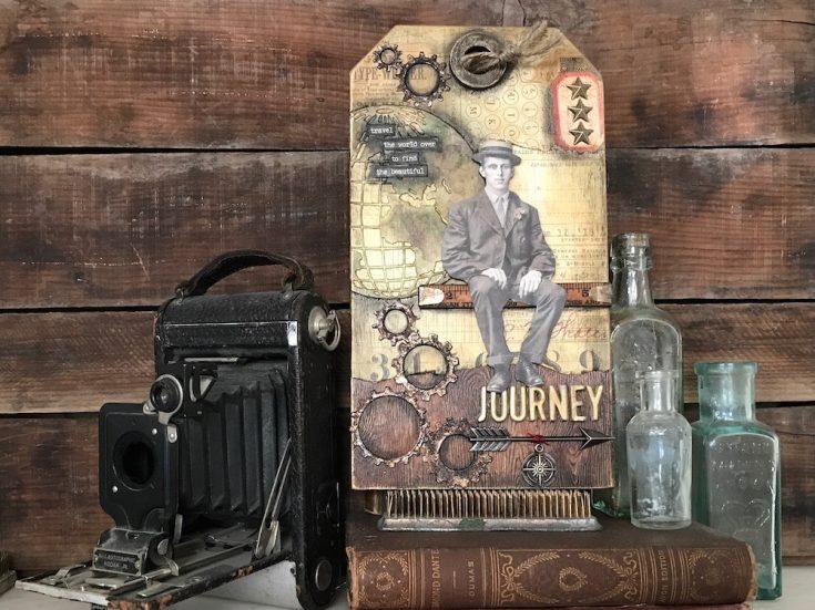 Beautiful Journey Tag