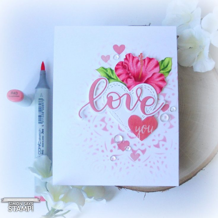 Collage Summer Love You Card