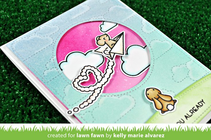 Combining Lawn Fawn Stamp Sets with Kelly Marie Alvarez