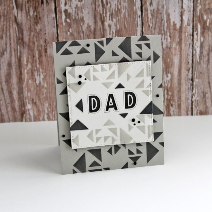 Geometric Dad Design