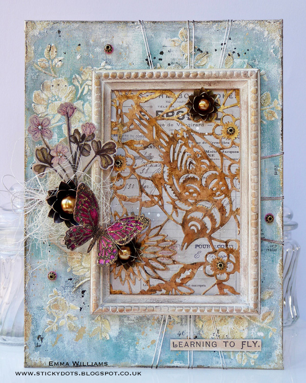 Learning to Fly Home Decor Panel
