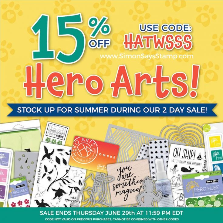Hero Arts Sale