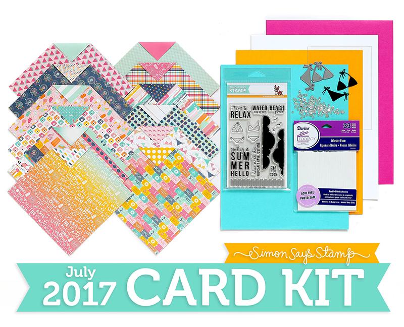 Shari Carroll, July Card kit