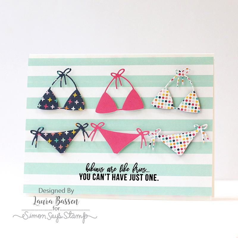 Laura Bassen, July Card Kit
