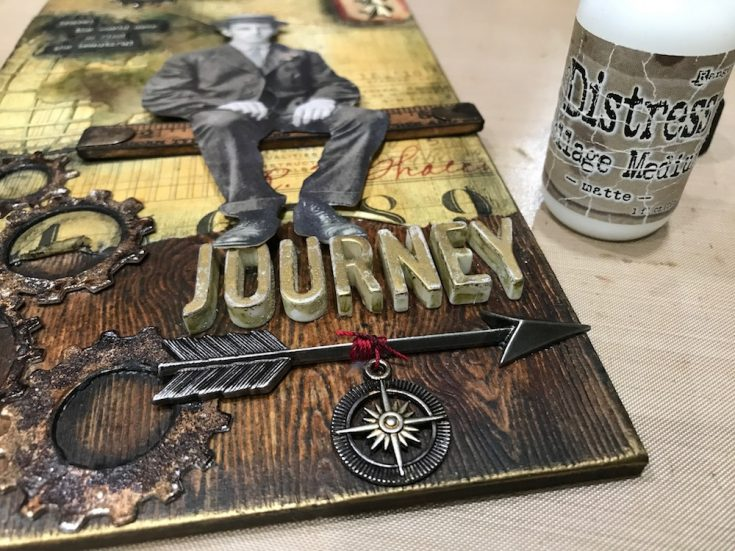 Beautiful Journey Tag
