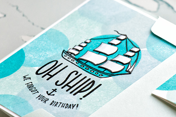 Yippee for Yana: Belated Birthday Cards - 3 Ways