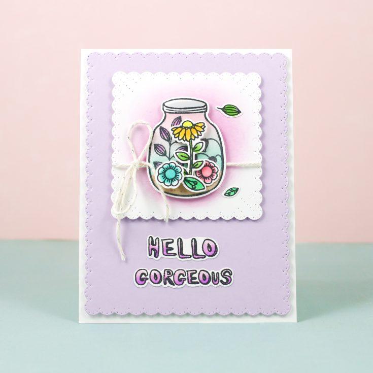 Tiny Terrarium Hello Card with Nina Yang