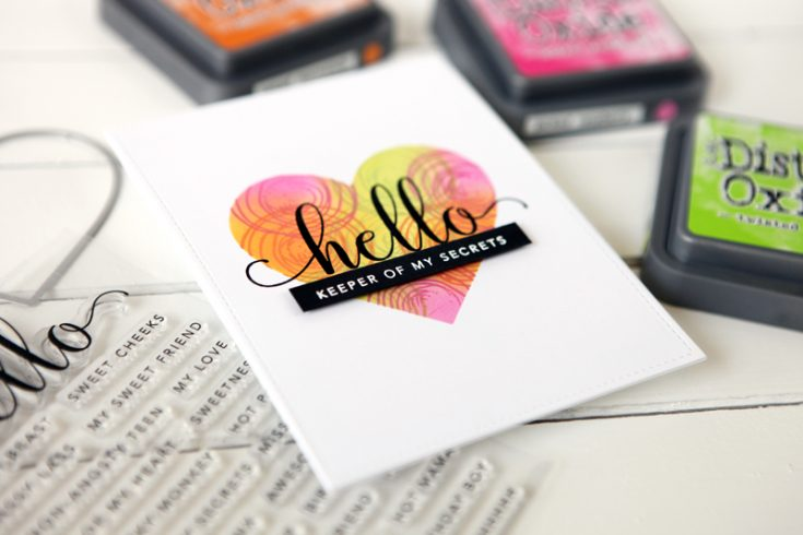 New Stamps Hello You Cathy Zielske
