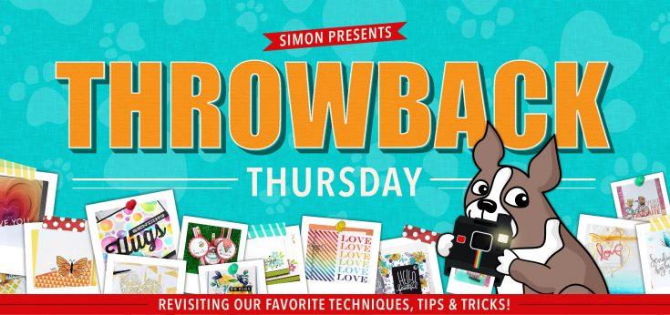 Throwback Thursday Simon Says Stamp