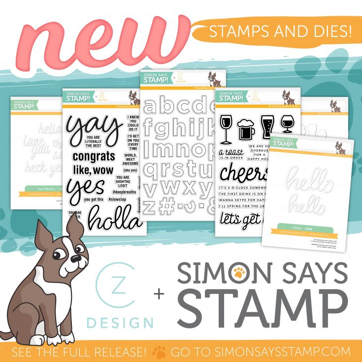 NEW Cathy Zielske Stamps & Dies Now Available
