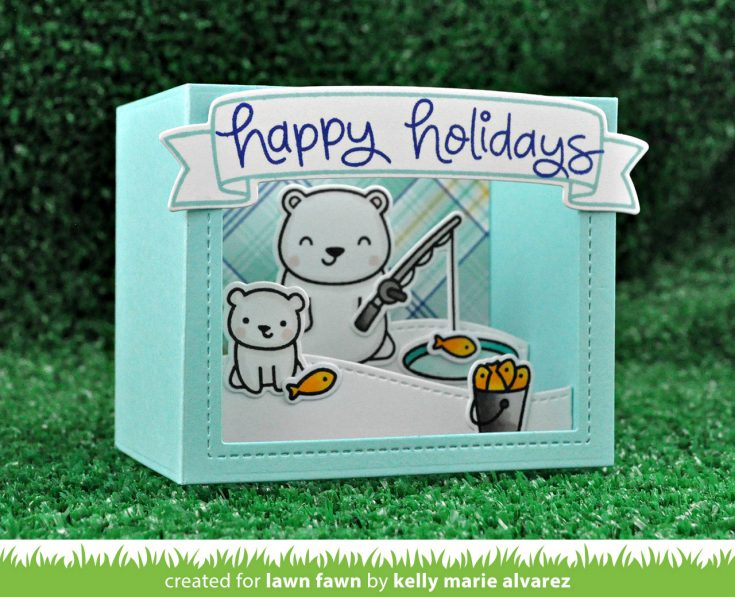 NEW Lawn Fawn Fall & Winter Products are HERE + Intro to Shadow Box Cards