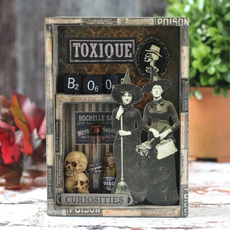 Shari Carroll, Mixed Medium, Tim Holtz