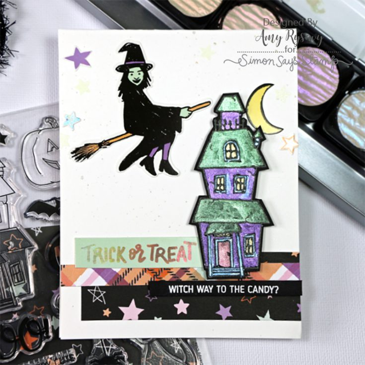 Limited Edition Simon Says Stamp Halloween Card Kit CREEPY CUTE CCHK17