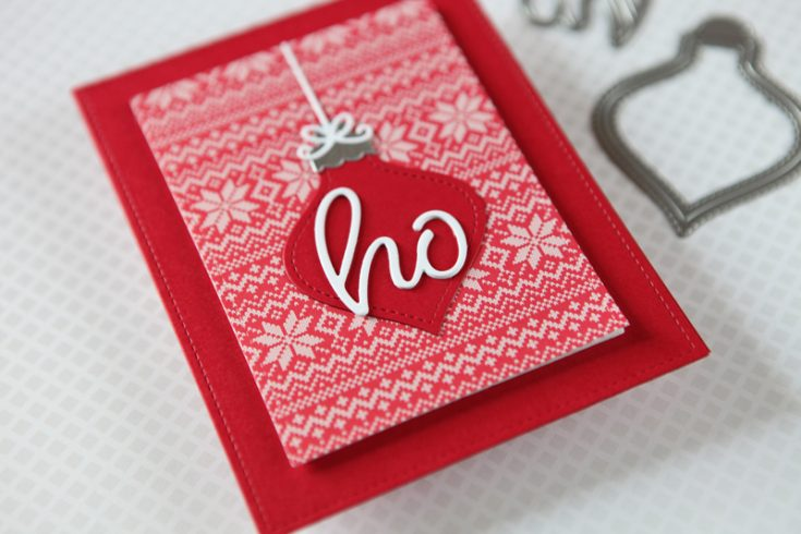 Cathy Zielske Simple Holiday Card