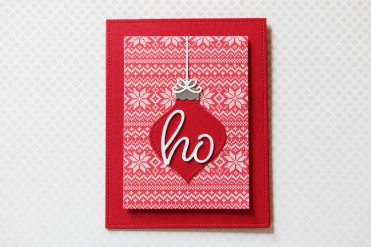 Cathy Zielske Simple Holiday Card