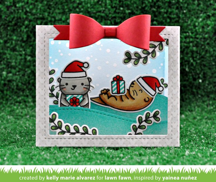 Simon Says Stamp STAMPtember® Lawn Fawn Exclusive: Intro to Christmas Like No Otter