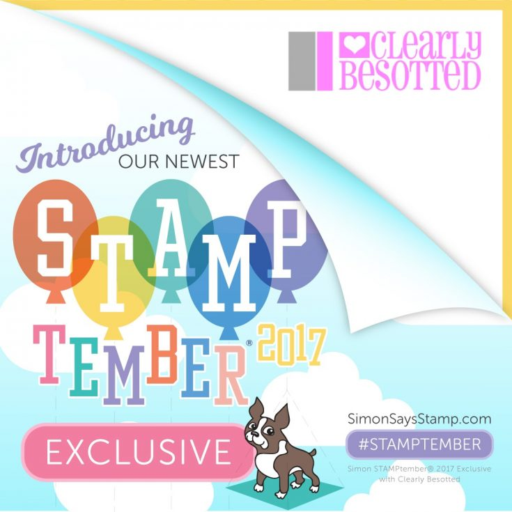 Clearly Besotted MY BEST FRIEND Clear Stamps SSS101780 Stamptember Exclusive