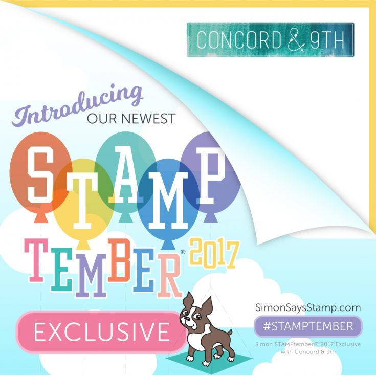 STAMPtember Exclusive Concord & 9th